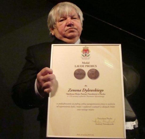 Kolejny płocczanin z medalem Laude Probus - Zdjęcie główne