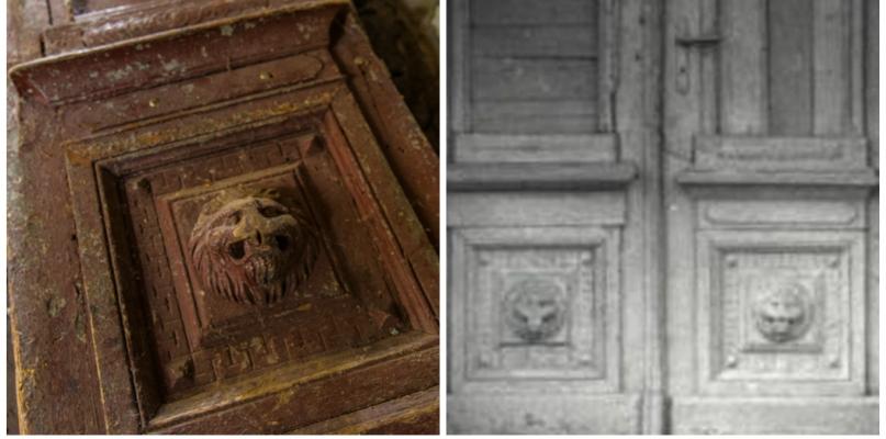 Odkrycie w starym magazynie. Już wiemy, skąd pochodzą drzwi  - Zdjęcie główne