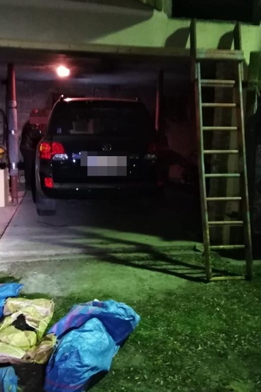 Odnaleziono skradzioną toyotę - Zdjęcie główne