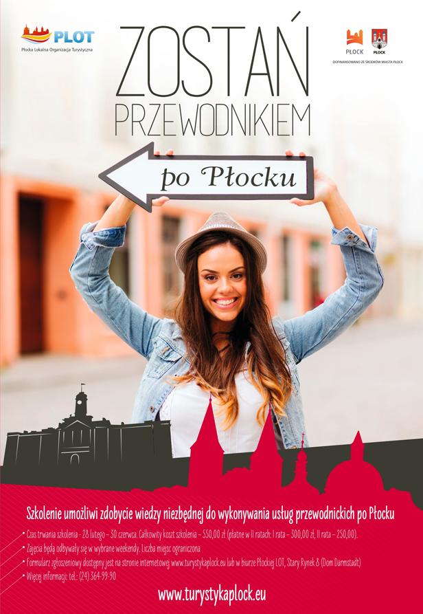 Zostań przewodnikiem po Płocku! - Zdjęcie główne