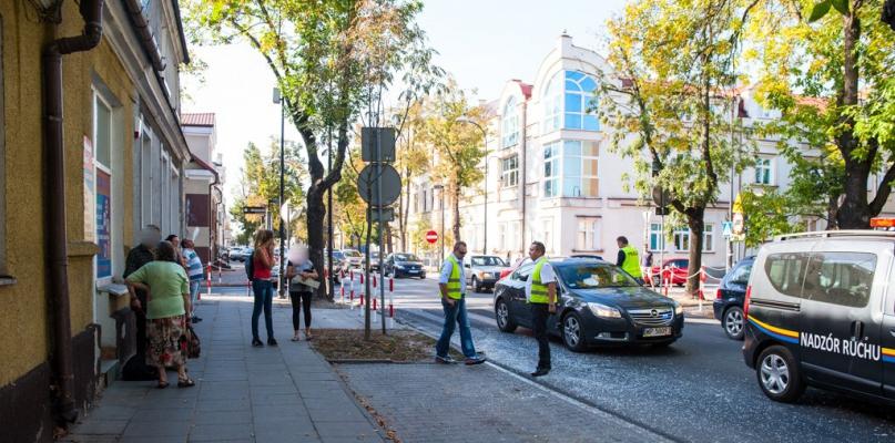 Zmiany na ulicach śródmieścia. Nowe oznakowanie i kocie oczka - Zdjęcie główne