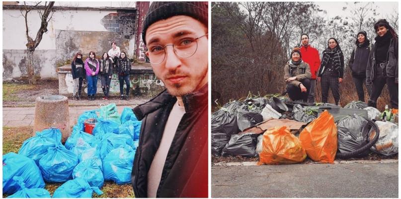 Organizują śmieciobranie. Mówią: Gdzie nie pójdziemy, tam znajdujemy ogrom śmieci - Zdjęcie główne