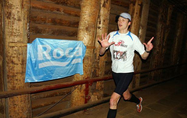 Udany debiut płockich biegaczy pod ziemią - Zdjęcie główne