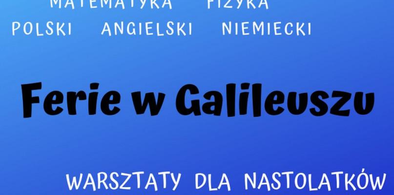 Ferie z Galileuszem  - Zdjęcie główne