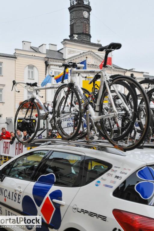 Tour de Pologne 2008 w Płocku - Zdjęcie główne