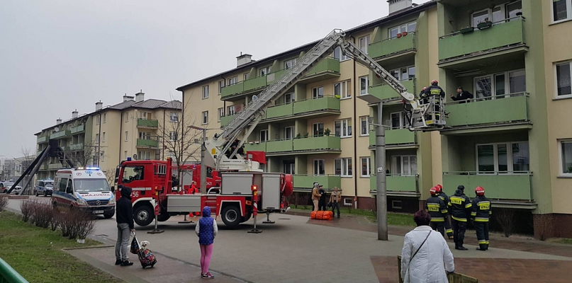 Strażacy interweniowali. Dostali zgłoszenie o próbie samobójczej - Zdjęcie główne