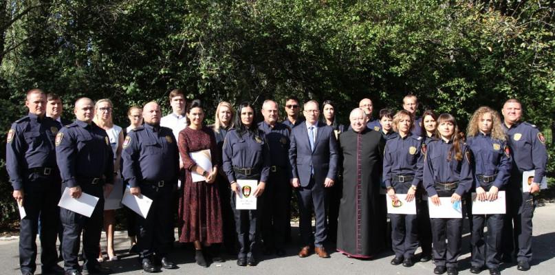 Święto Straży Miejskiej w Płocku. Wręczono nagrody i awanse - Zdjęcie główne