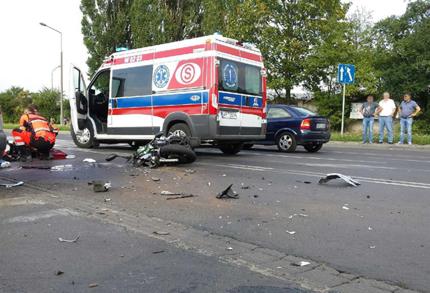 Tragiczny wypadek. Nie żyje motocyklista - Zdjęcie główne