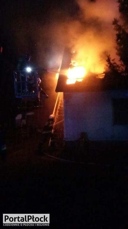 Pożar w Pęszynie - Zdjęcie główne