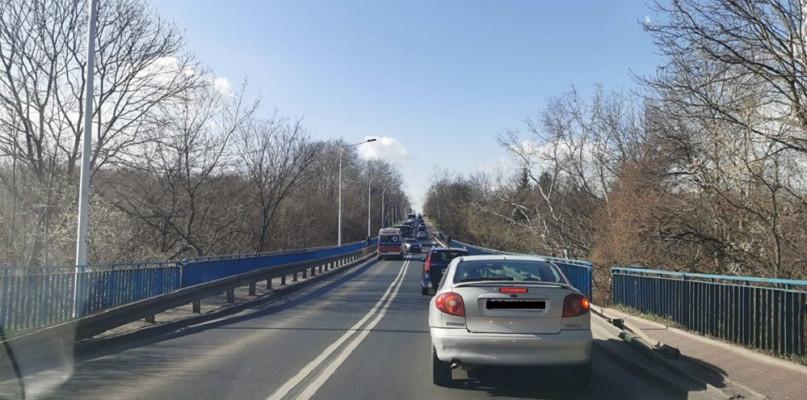 Utrudnienia na Dobrzyńskiej. Prawdopodobnie doszło do potrącenia rowerzysty [AKTUALIZACJA] - Zdjęcie główne