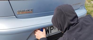 Kierowcy, uważajcie! Masowo kradną tablice rejestracyjne  - Zdjęcie główne