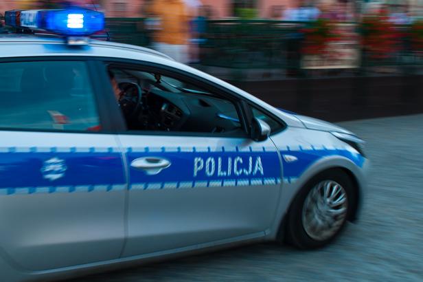 Ciężarówka jechała szlaczkiem po Bielskiej - Zdjęcie główne