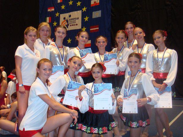 Płockie cheerleaderki czwarte w Europie - Zdjęcie główne