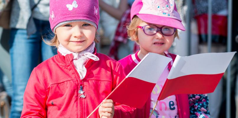 Płocczanie Święto Flagi obchodzili przed ratuszem [FOTO] - Zdjęcie główne