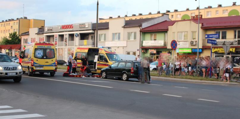 Śmiertelne potrącenie na przejściu dla pieszych - Zdjęcie główne