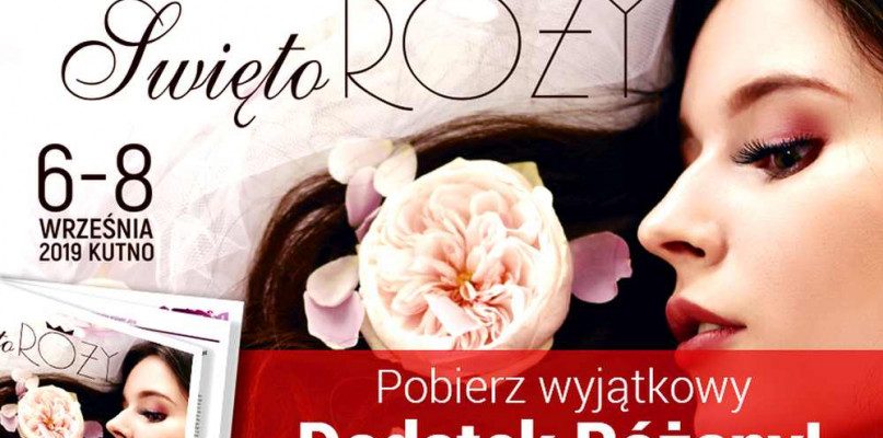 Dodatek Różany z okazji 45.  Święta Róży w Kutnie - Zdjęcie główne