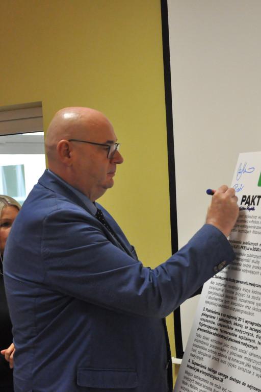 """Ludowcy podpisali """"Pakt dla zdrowia"""" - Zdjęcie główne"""
