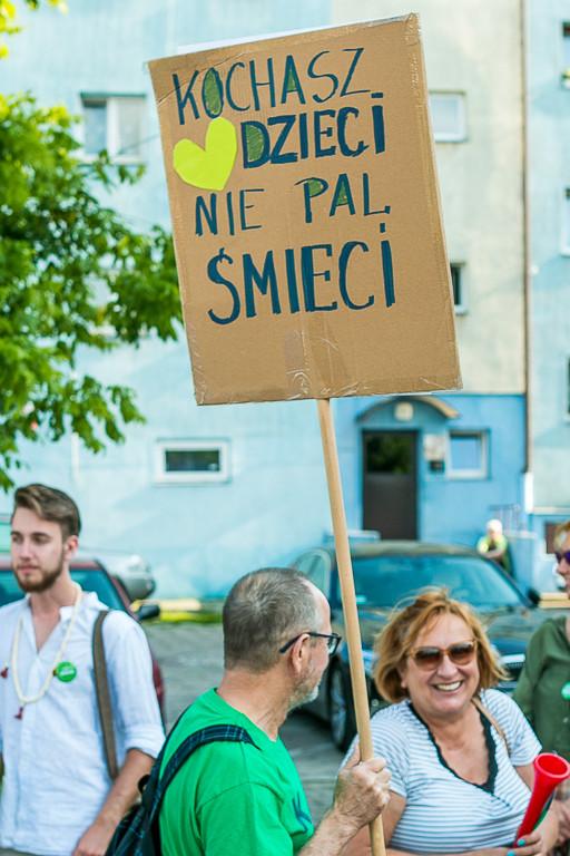 Pikieta przeciw wycince drzew na Kilińskiego - Zdjęcie główne