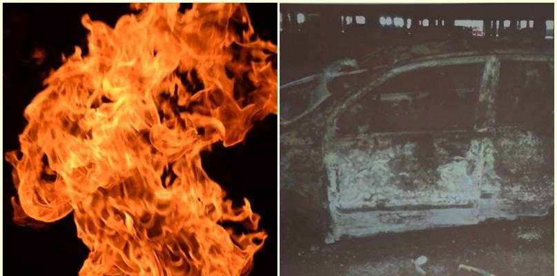 Podpalono auto na parkingu. Po zmroku mieszkańcy nie czują się tam bezpiecznie - Zdjęcie główne