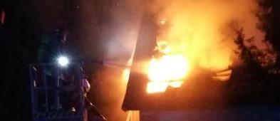 Pożar domu. W płomieniach stracili dosłownie wszystko  - Zdjęcie główne