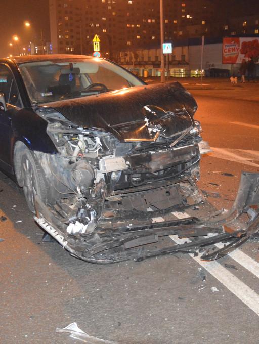 Poważny wypadek na Armii Krajowej - Zdjęcie główne
