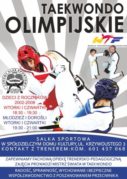 Nabór do sekcji taekwondo olimpijskiego - Zdjęcie główne