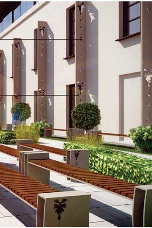 Plany dla budynku w centrum miasta - Zdjęcie główne