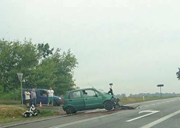 Śmiertelny wypadek. Nie żyje motocyklista - Zdjęcie główne
