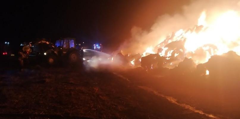 Sześć godzin walczyli z żywiołem. Pożar w Sikorzu - Zdjęcie główne