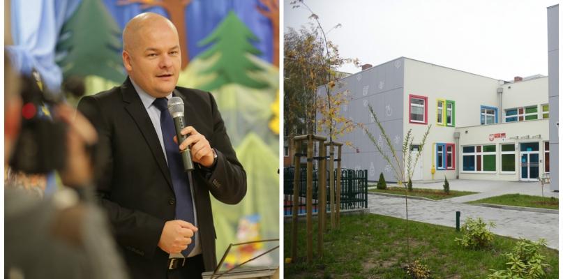 Prezydent wzruszony podczas otwarcia  przedszkola na Podolszycach - Zdjęcie główne