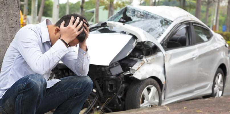 Wypadek. Zderzyły się cztery samochody - Zdjęcie główne