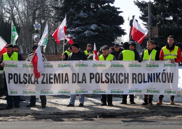 Jutro protest rolników. Również w Płocku - Zdjęcie główne
