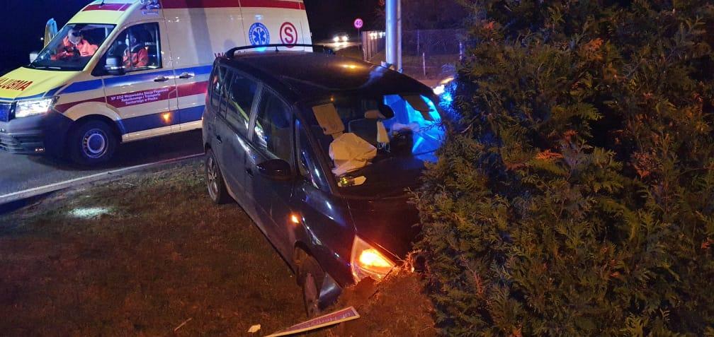 Kolejne zderzenie na skrzyżowaniu w Białej pod Płockiem - Zdjęcie główne