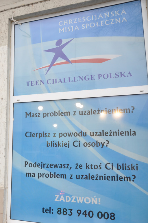 Otwarcie punktu Teen Challenge - Zdjęcie główne