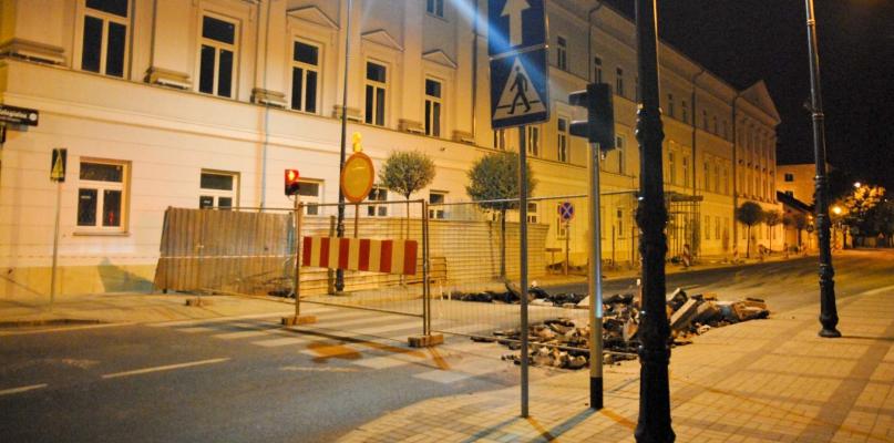 Przypominamy: fragment Kolegialnej jest zamknięty dla ruchu - Zdjęcie główne