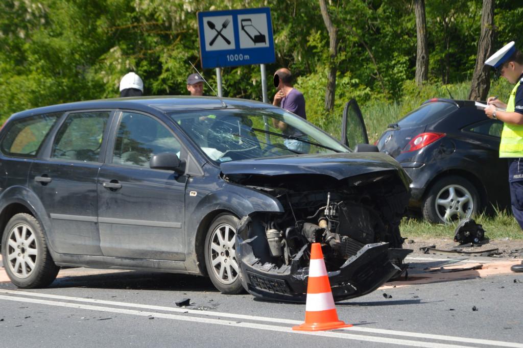 Wypadek w Słupnie - Zdjęcie główne