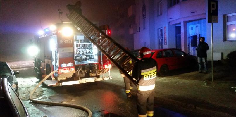 Pożar w bloku na Podolszycach. Wiadomo, co się tam stało - Zdjęcie główne
