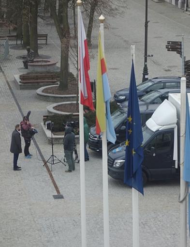 Ekipa TVN w Płocku. Na starówce nagrywali materiał do programu - Zdjęcie główne