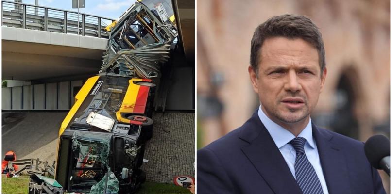 Tragiczny wypadek w Warszawie. Rafał Trzaskowski odwołał wizytę w Płocku - Zdjęcie główne