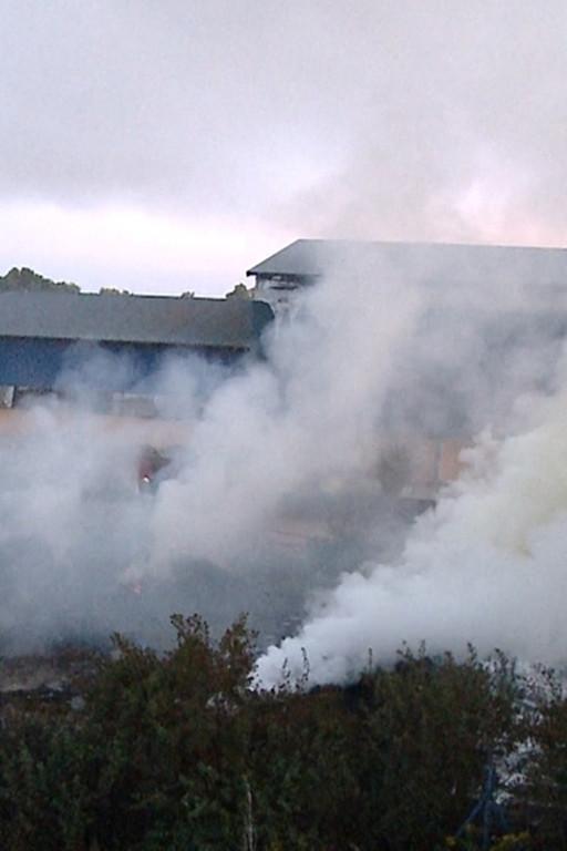 Wysypisko w Kobiernikach w ogniu - Zdjęcie główne