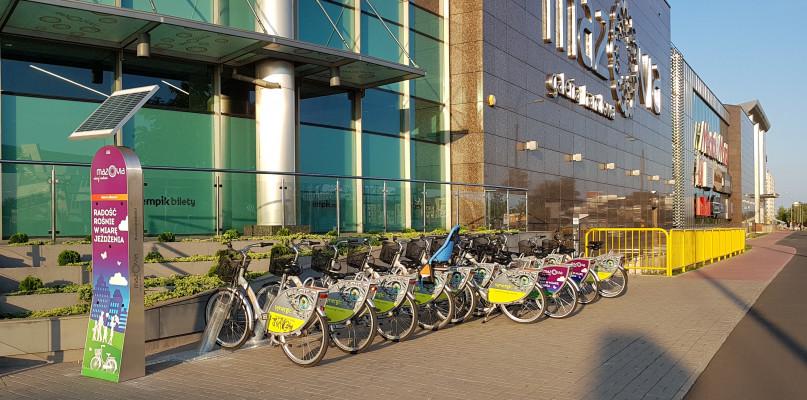 Ponad 300 rowerów miejskich w Płocku. Powstała kolejna stacja - Zdjęcie główne