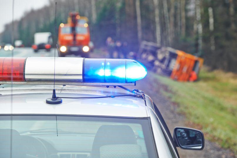 Poważny wypadek niedaleko Płocka. Duże utrudnienia w ruchu  - Zdjęcie główne