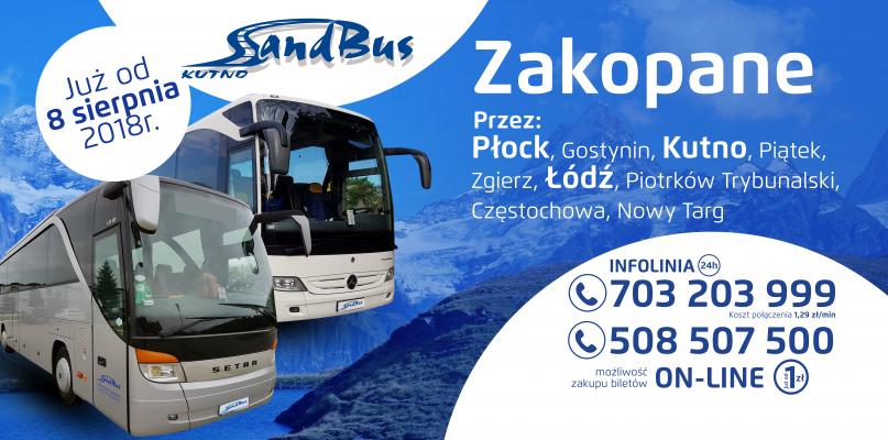 Pierwsze połączenie z Płocka do Zakopanego! - Zdjęcie główne