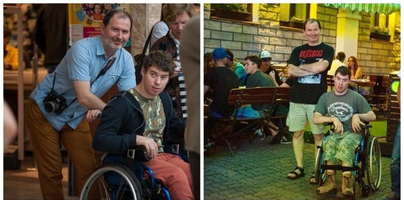 Kojarzycie Piotra? W swoje urodziny zbiera na nowy wózek - Zdjęcie główne