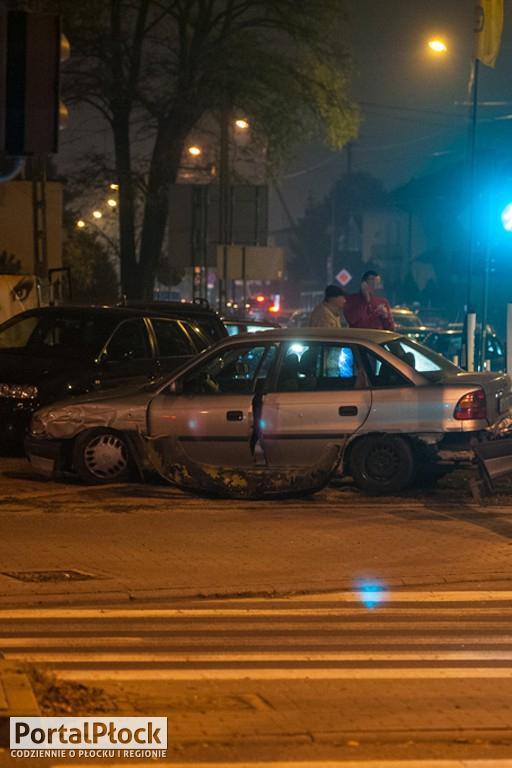 Zderzenie aut przy Spółdzielczej - Zdjęcie główne