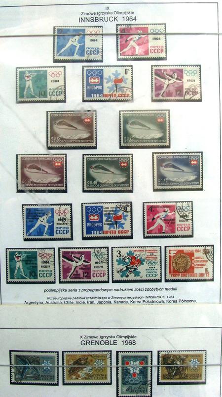 W Soczi igrzyska,u nas olimpijskie...znaczki - Zdjęcie główne