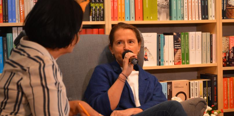Monika Jaruzelska w Płocku. Było o polityce, rodzinie i hejcie [FOTO] - Zdjęcie główne