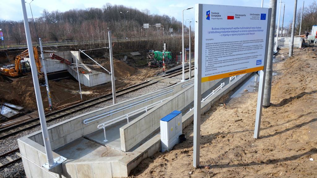 Łódź-Warszawska czy Łódź-Marysin-Rogi? Mieszkańcy apelują o zmianę nazwy przystanku kolejowego [ZDJĘCIA] - Zdjęcie główne