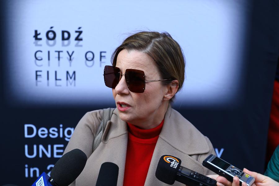 """Aktorka Agata Kulesza o Łodzi: """"Lubię tu przyjeżdżać"""" - Zdjęcie główne"""
