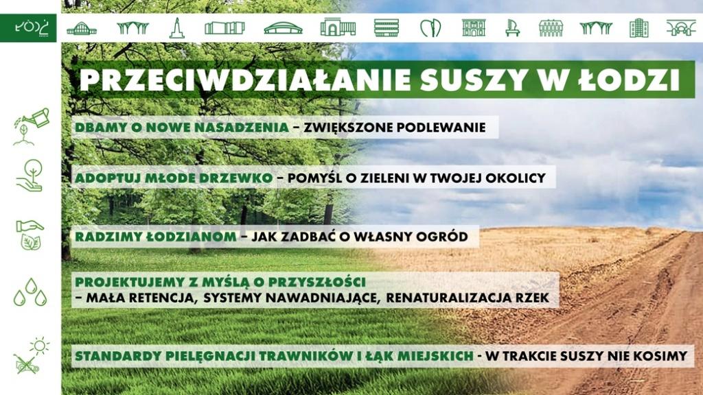 Łódź pomaga w walce z suszą - Zdjęcie główne